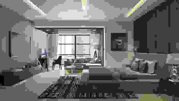Apartment with a Terrace Modern bathroom by Aijaz Hakim Architect [AHA] Modern