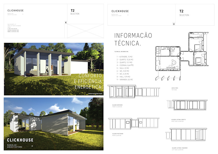 Habitação Modular por ClickHouse
