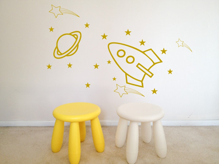 Children Wall Stickers Modern Walls and Floors by Unique Vinyl And Print Modern