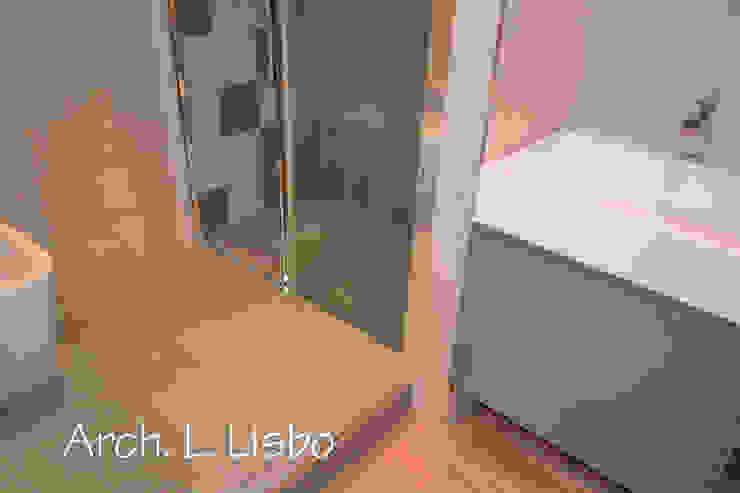 Badezimmer von ARCHITETTO LAURA LISBO, Modern