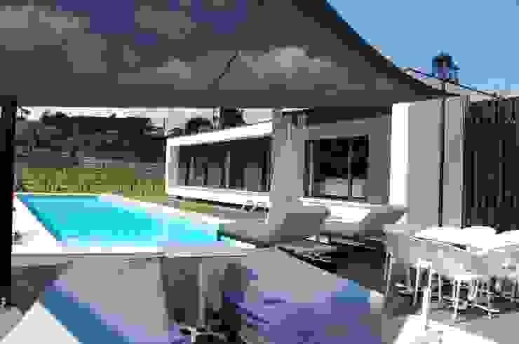 Casa da Vinha Casas modernas por Engebasto - Atividades de Engenharia e Arquitetura, Lda Moderno