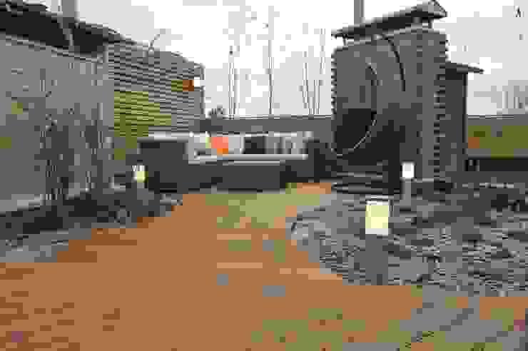 Terrasse von Fabryka-ogrodów s.c., Skandinavisch Holz Holznachbildung
