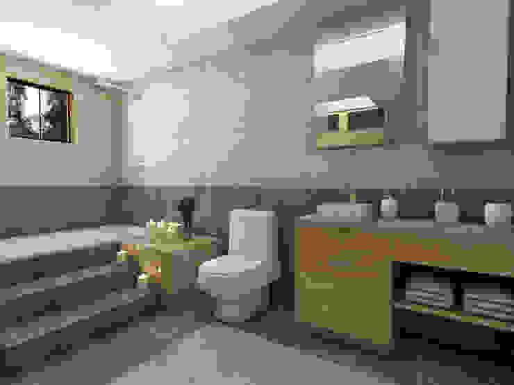 Bathroom by Arqternativa,