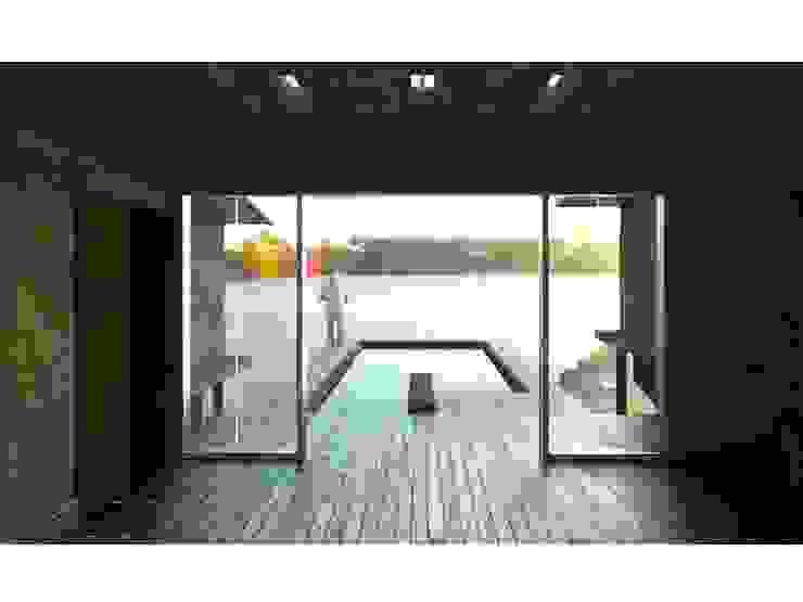 FyA Arquitectos Modern pool Wood Multicolored