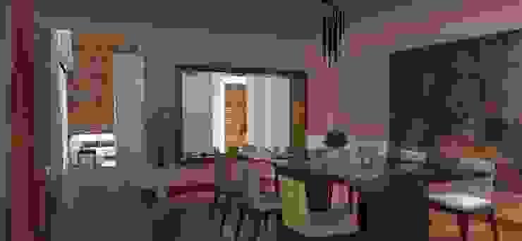 FyA Arquitectos Modern dining room