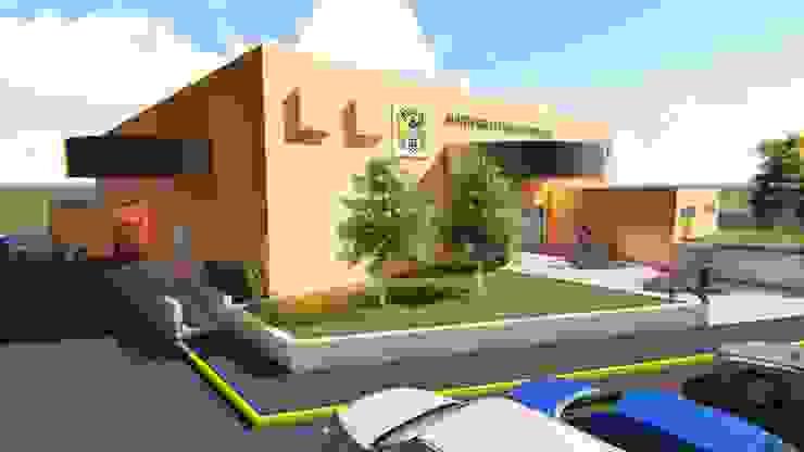 Centro Social Ferrocarrilero Salones industriales de FyA Arquitectos Industrial