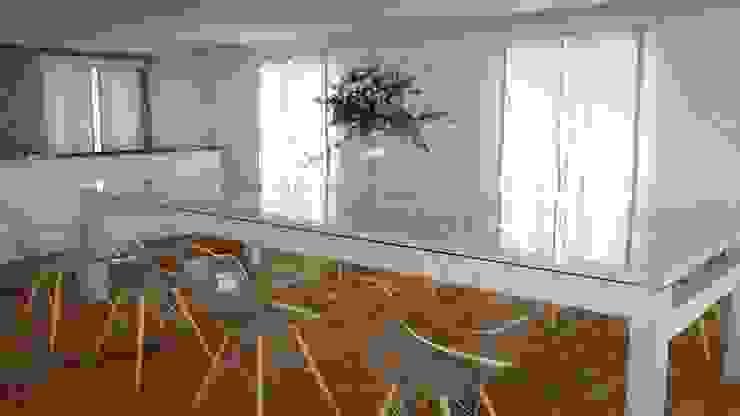 Idea de Comedor Principal 1 FyA Arquitectos Comedores modernos Vidrio Transparente