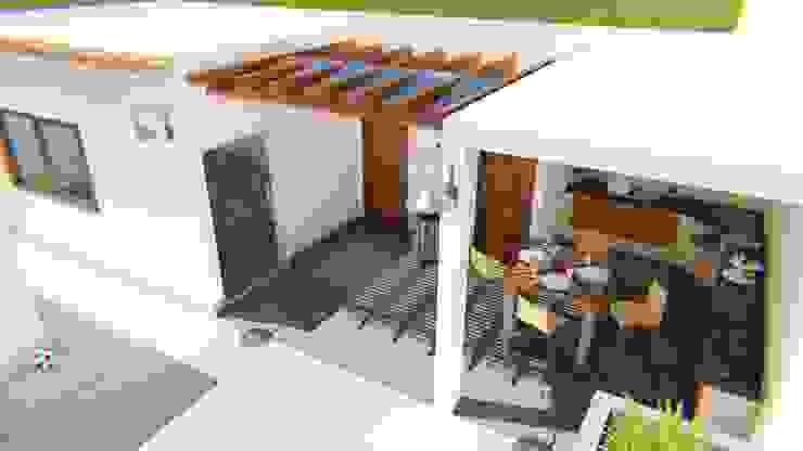 Столовая комната в стиле модерн от FyA Arquitectos Модерн