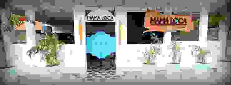 Exterior View Minimalist hotels by Shadab Anwari & Associates. Minimalist