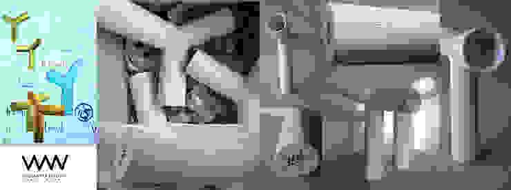 b (eau) Designer, widianto utomo ダイニングルーム食器&ガラス製品 セラミック 白色