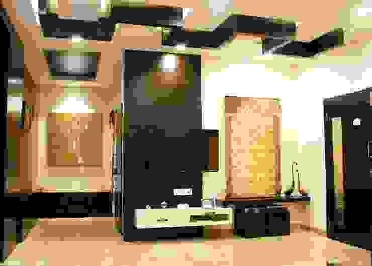 Asiatische Wohnzimmer von Shadab Anwari & Associates. Asiatisch