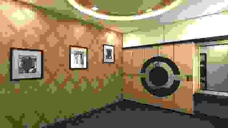 Asiatische Schlafzimmer von Shadab Anwari & Associates. Asiatisch