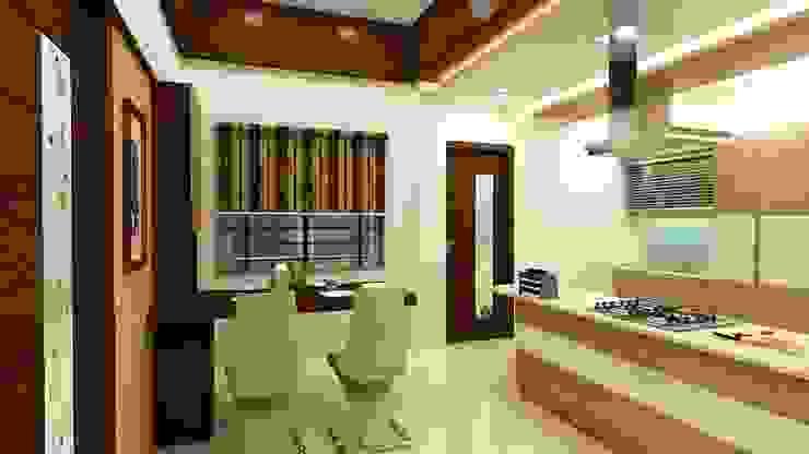 Asiatische Esszimmer von Shadab Anwari & Associates. Asiatisch