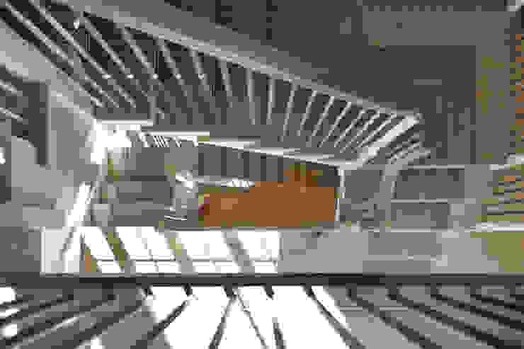 Stairs Studio Hooton Modern corridor, hallway & stairs