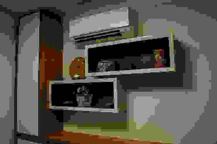 غرفة نوم تنفيذ Inspirate Arquitetura e Interiores,