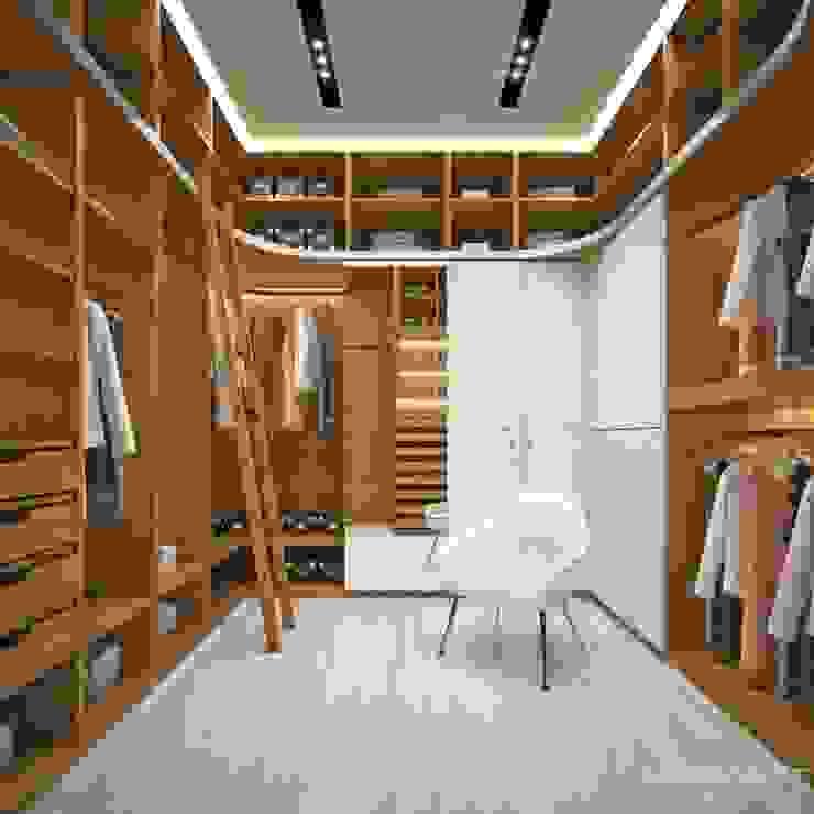 Ruang Ganti oleh LK&Projekt GmbH, Modern