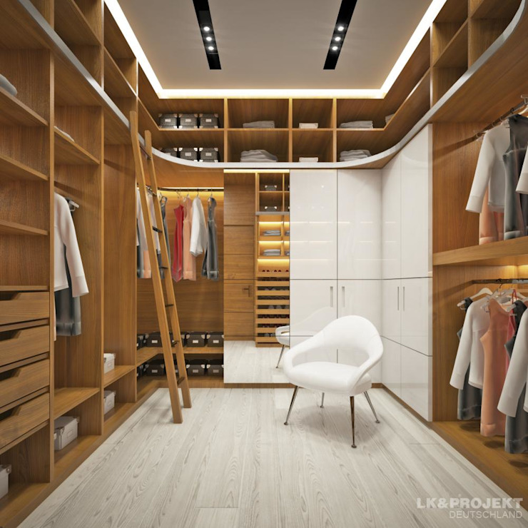 Modern Dressing Room by LK&Projekt GmbH Modern