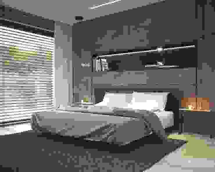Спальни в . Автор – LK&Projekt GmbH,