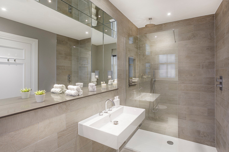 Ensuite Studio Hooton Salle de bain moderne