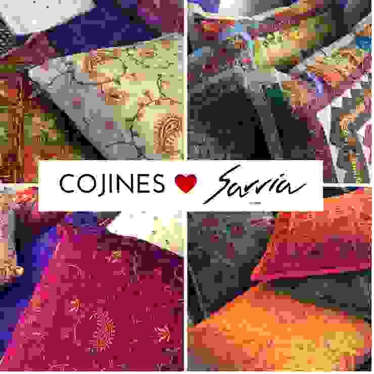 Ama la decoracion con textiles. de SARRIA HOME Asiático Fibra natural Beige