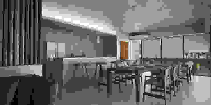 Departamentos Punta Caracol - A.flo Arquitectos Cocinas modernas de A.flo Arquitectos Moderno Concreto