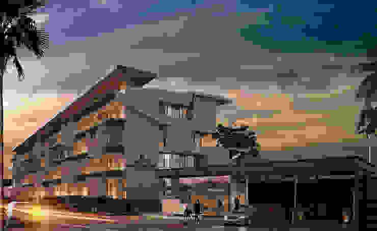 Departamentos Punta Caracol - A.flo Arquitectos Casas modernas de A.flo Arquitectos Moderno Concreto