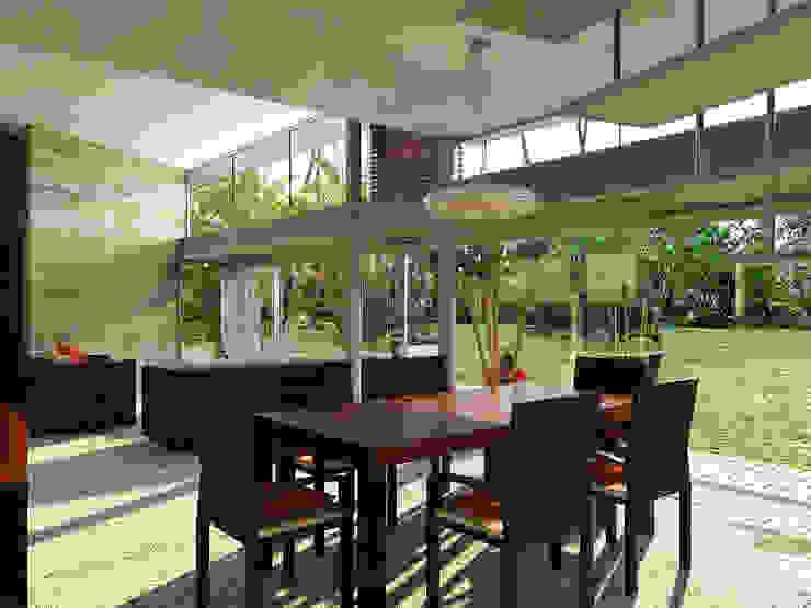 Lts Punta Caracol - A.flo Arquitectos Comedores modernos de A.flo Arquitectos Moderno Concreto