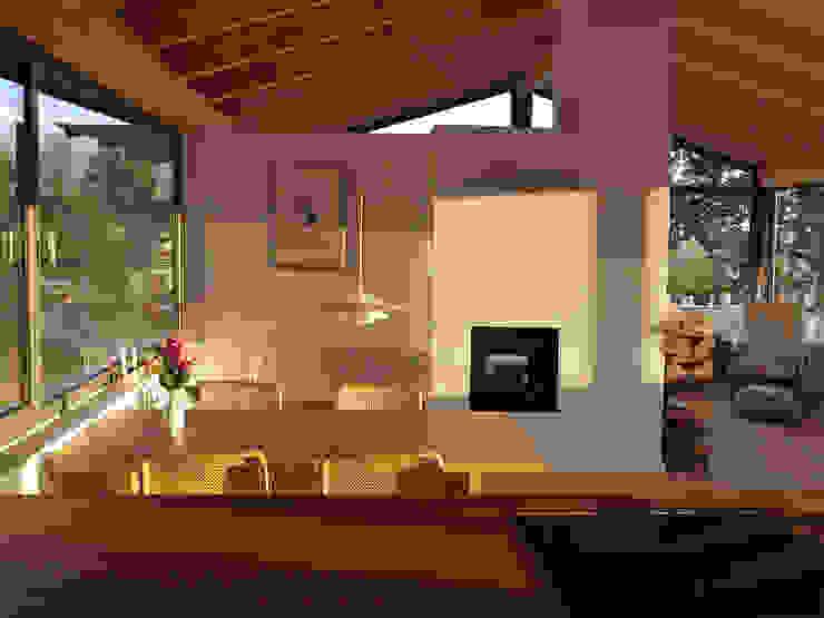 K2 Architekten GbR의  다이닝 룸, 북유럽