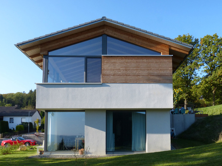 Scandinavian style houses by K2 Architekten GbR Scandinavian