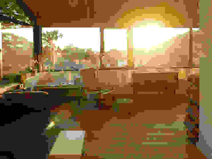 Glückauf Vier K2 Architekten GbR Skandinavische Wohnzimmer