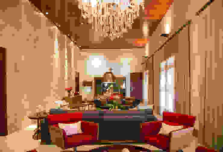 Wohnzimmer im Landhausstil von Érica Pandolfo - arquitetura / interiores Landhaus