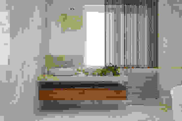 Ванная комната в стиле модерн от homify Модерн Мрамор