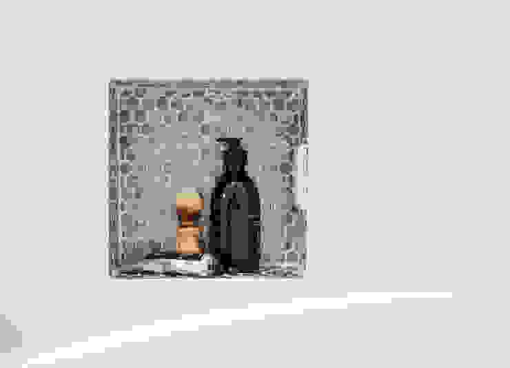 nisje badkamer Moderne badkamers van IJzersterk interieurontwerp Modern