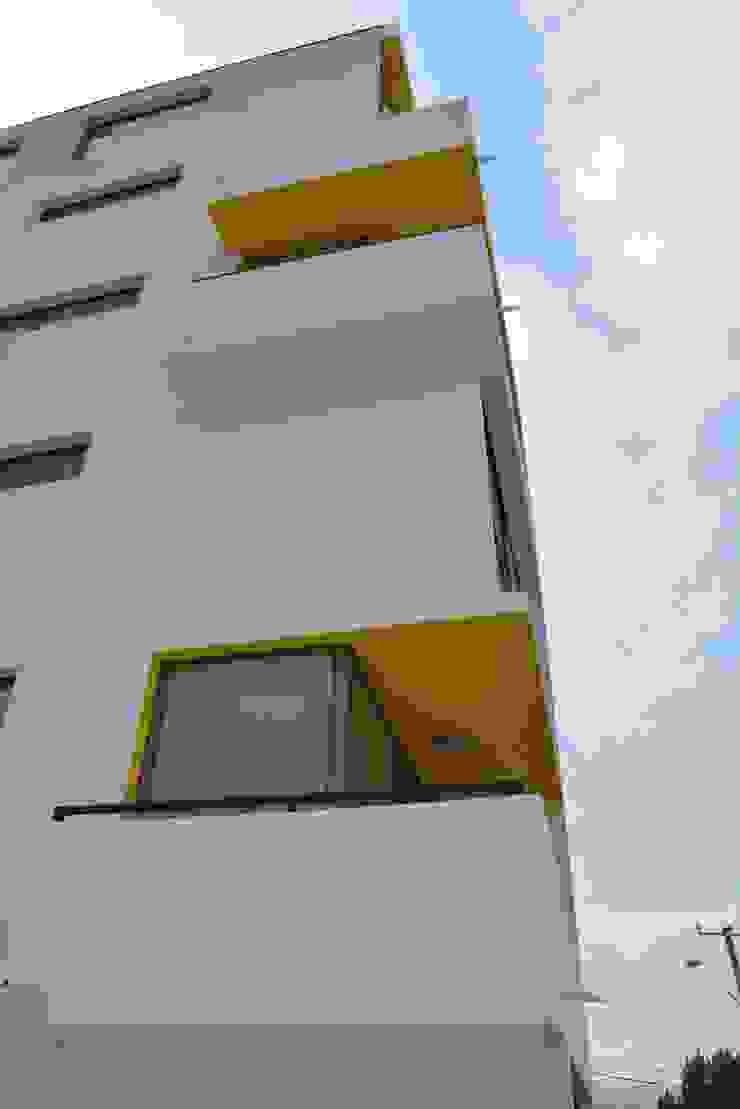 Edificio residencial Nueva las Rosas Casas estilo moderno: ideas, arquitectura e imágenes de Materia prima arquitectos Moderno