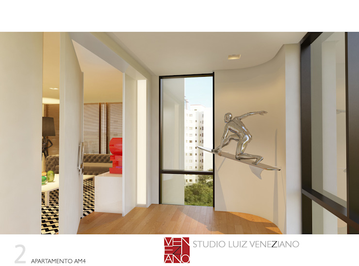 Modern windows & doors by STUDIO LUIZ VENEZIANO Modern
