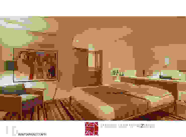Modern style bedroom by STUDIO LUIZ VENEZIANO Modern