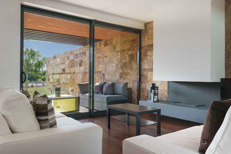 L'orangerie Salas de estar modernas por Zenaida Lima Fotografia Moderno
