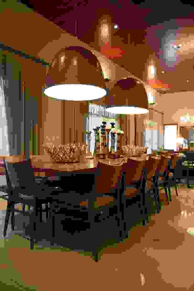 Chacara 2 Moderne Esszimmer von Érica Pandolfo - arquitetura / interiores Modern
