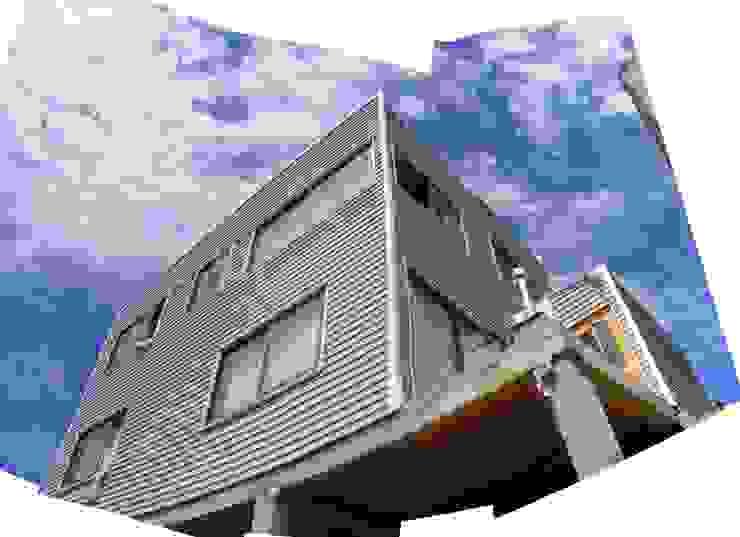 MARCELA CARRERAS - AUTO CONSTRUCCIÓN ASISITDA M25 Casas estilo moderno: ideas, arquitectura e imágenes
