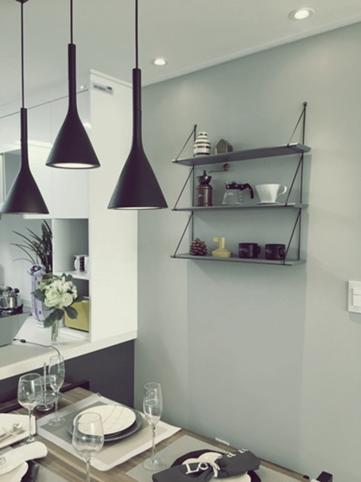 일산 홈스타일링 (Ilsan homestyling) homelatte Modern kitchen