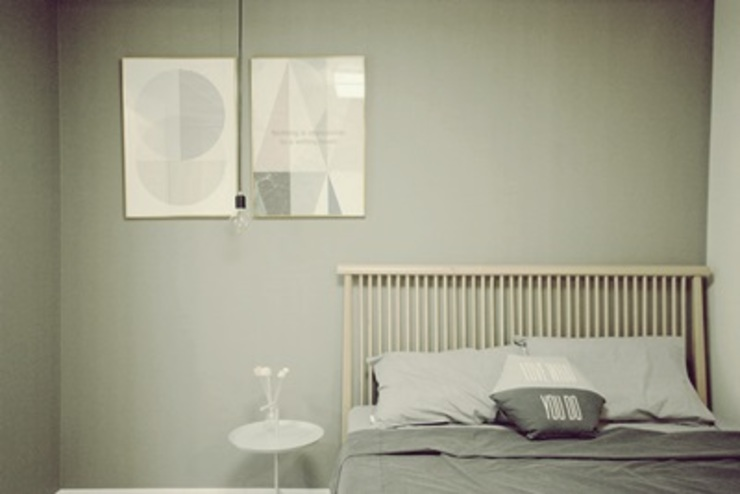 일산 홈스타일링 (Ilsan homestyling) 모던스타일 침실 by homelatte 모던