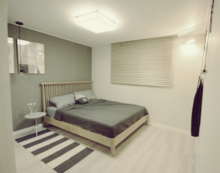 일산 홈스타일링 (Ilsan homestyling) Modern style bedroom by homelatte Modern