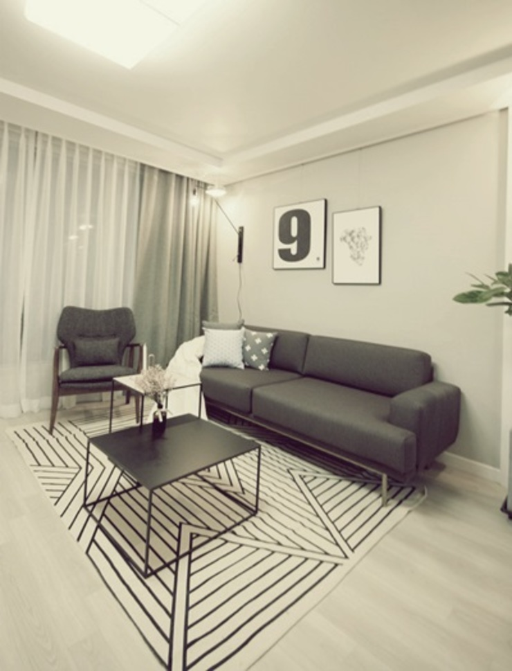 일산 홈스타일링 (Ilsan homestyling) homelatte Modern living room