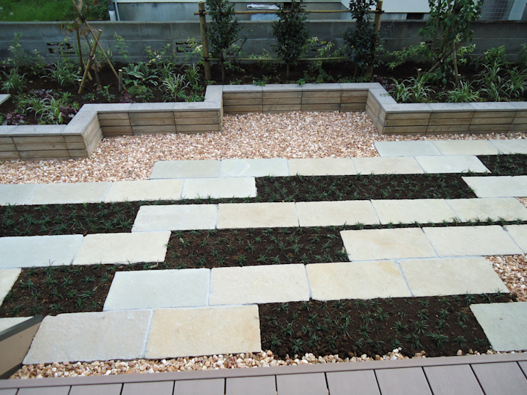 お庭 Jardin moderne par 有限会社 伊豆植物園 Moderne