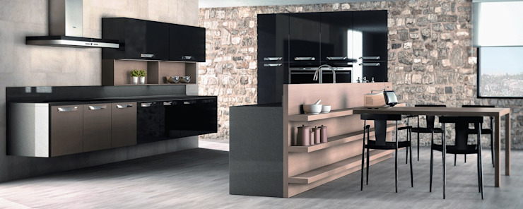 Galeria Milar Lobo Estudio Cocinas Modern kitchen