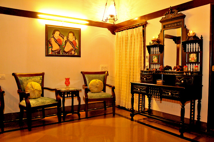 Dhiren Tharnani Modern living room by IMAGE N SHAPE Modern