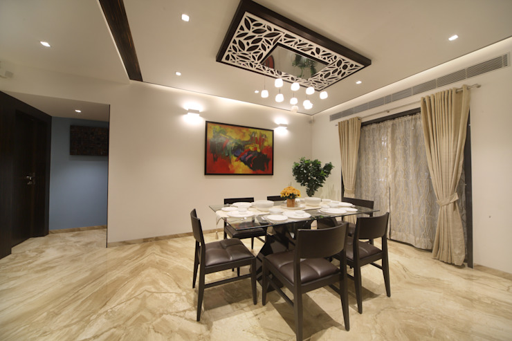 Samrath Paradise Modern dining room by IMAGE N SHAPE Modern