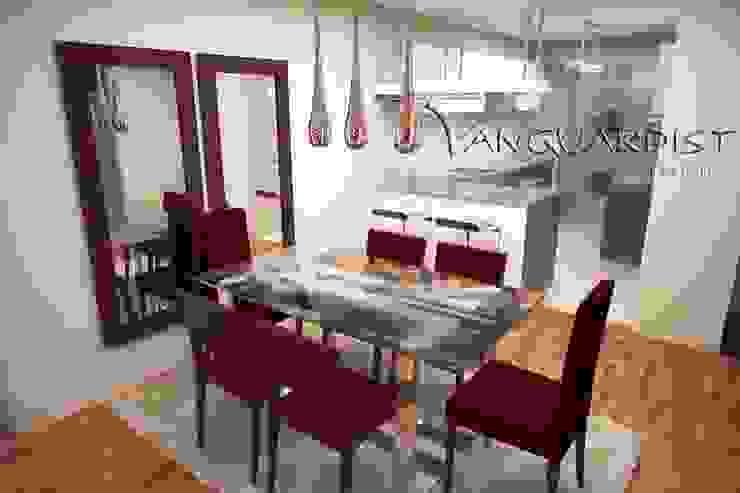 Diseño de Departamento San Borja Comedores de estilo moderno de Vanguardist Design Studio Moderno