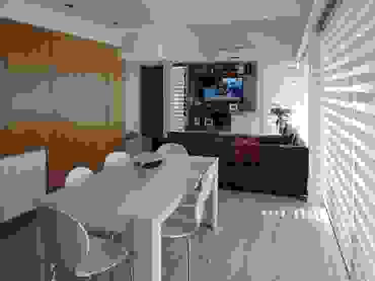Casa Pueyrredon: Comedores de estilo  por Pablo Langellotti Arquitectura