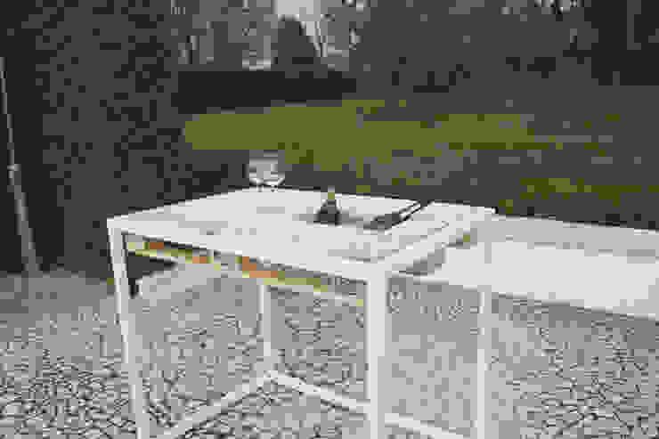 Progetti Jardines de estilo moderno de Intrepido Design Moderno